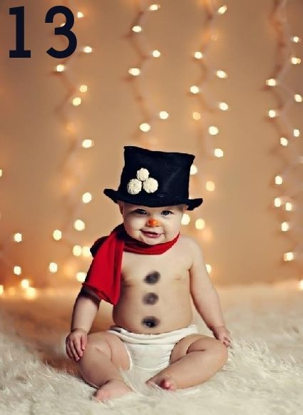 fotos bebés navidad