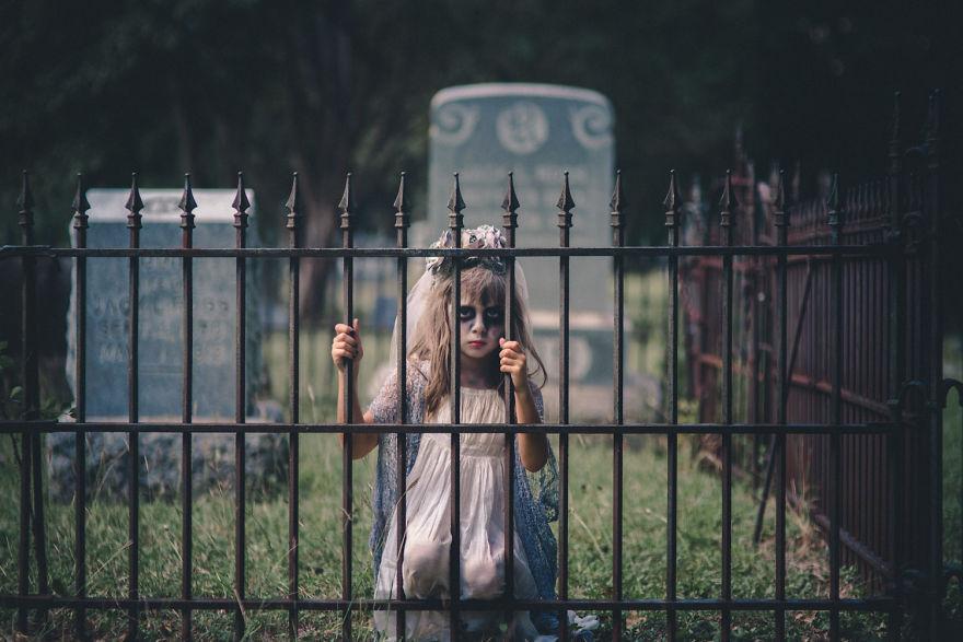 Fotografía HAlloween cementerio