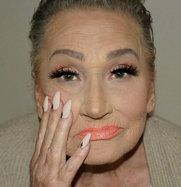 fotos abuela glamour