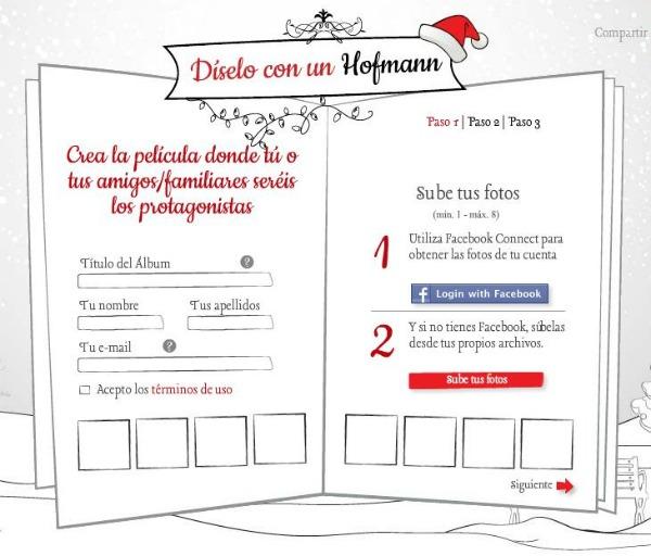 Felicitacion Navidad Hofmann