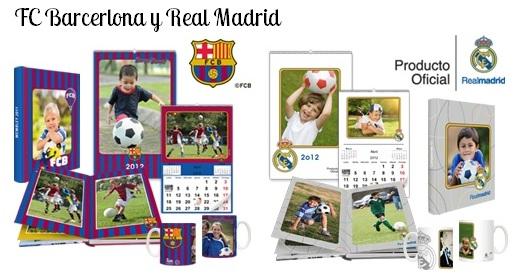 tazas calendarios albumes real madrid barcelona
