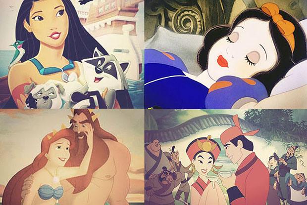 princesas disney instagram