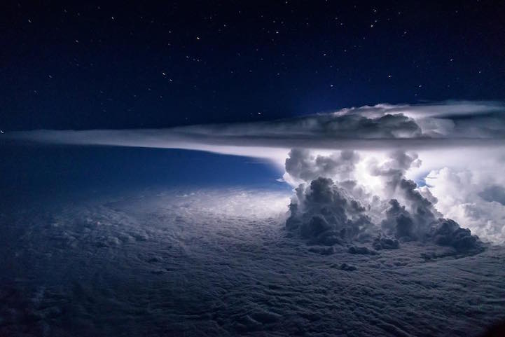 fotos tormenta océano pacífico