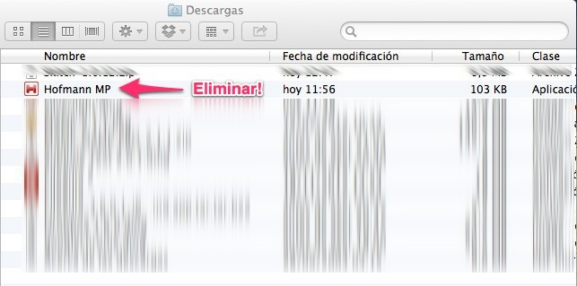 Actualizar Hofmann para Mac