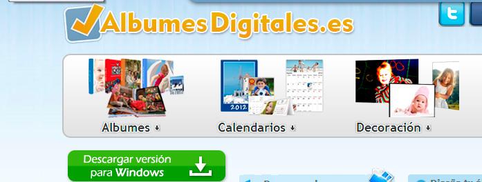 albumes digitales nuevo diseño