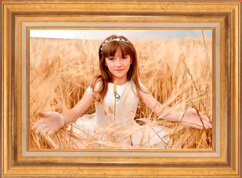 Cuadros de comuni n - Como hacer un cuadro con fotos familiares ...
