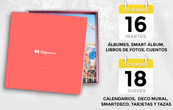 Plazos y fechas límite Navidad Hofmann