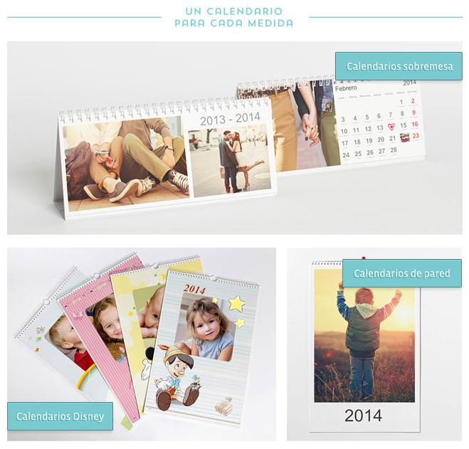 Formatos de calendarios personalizados