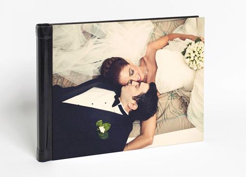 Álbum fotos Hofmann Premium con tapas símil piel