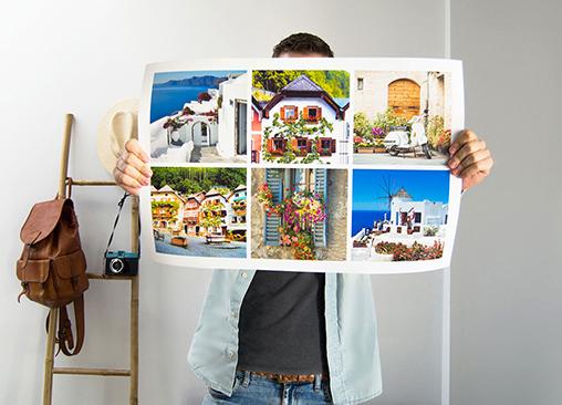Póster Hofmann Collage