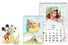 Calendario de Pared Disney Classic (30x45) A3