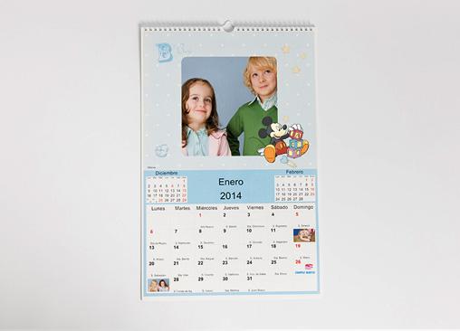 Calendario Disney Classic 22x30 cm