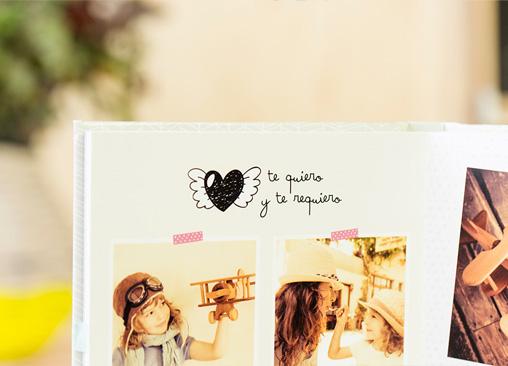 Álbumes de fotos con diseño Mr Wonderful (Impresión digital)