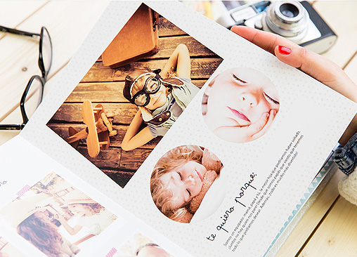 Álbumes de fotos con diseño Mr Wonderful (Impresión digital)