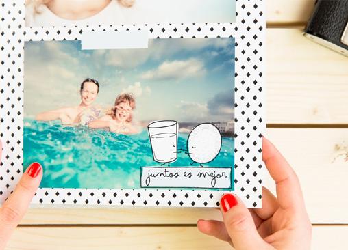 Álbumes de fotos Mister Wonderful con impresión fotográfica