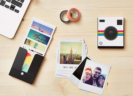 Revela tus fotos al estilo Polaroid