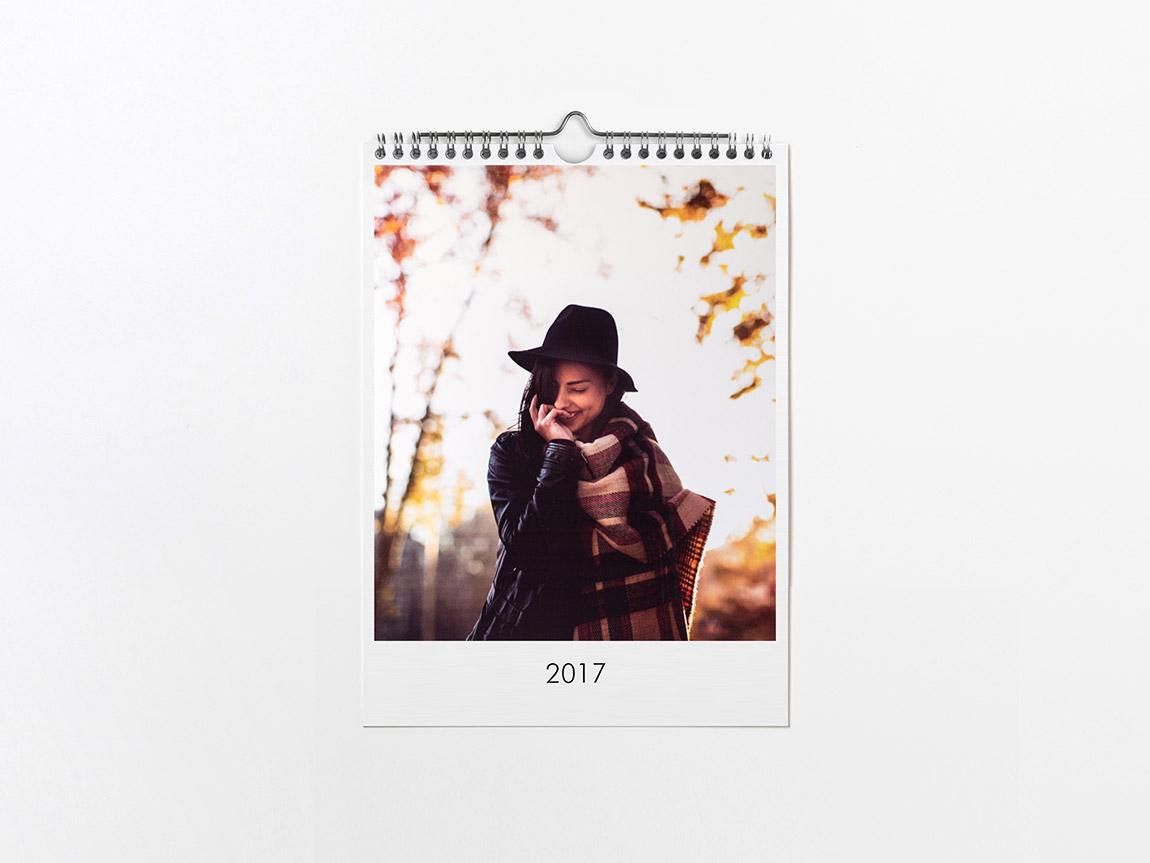 Calendario online de pared Hofmann en formato A4 (21x28 cm)