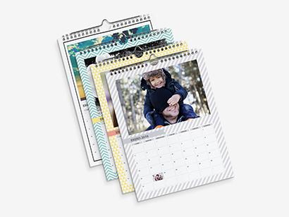 Calendario de pared formato A3 (30x40 cm)