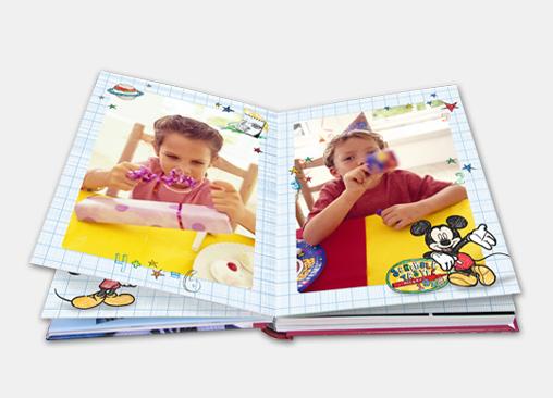 Álbumes de Mickey Mouse.
