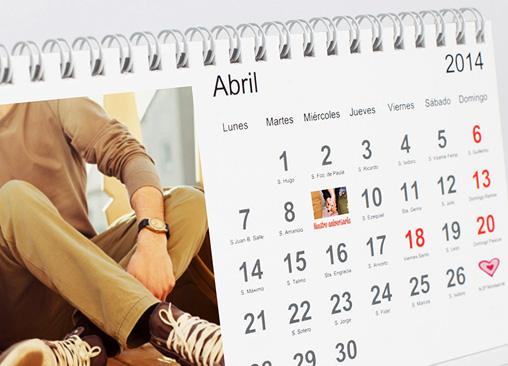 Calendario de mesa Hofmann. Ideal para tu oficina o despacho.