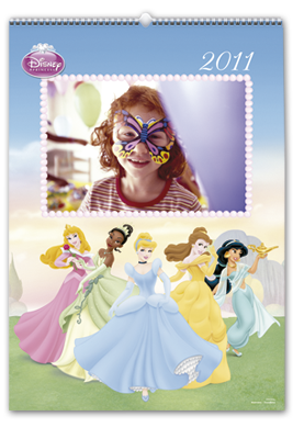 Calendario Disney Princesas 30x45