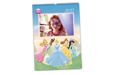 Calendario de Pared Disney Princesas (30x45) A3