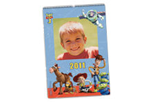 Calendario de pared Toy Story