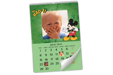 Calendario Disney: Mickey Mouse en formato 30x45 cm
