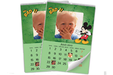 Calendario de pared Disney Mickey Mouse (22x30) A4