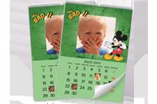 Calendario de Mickey Mouse en formato 22x30 cms