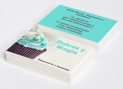 Tarjetas de Visita Hofmann. Puedes hacer tus propias tarjetas de visita!