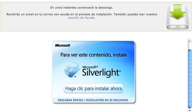 instalar silverlight